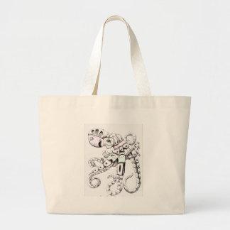 Octopus Jumbo Tote Bag