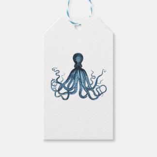 Octopus kraken nautical coastal ocean beach blue