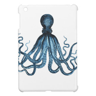 Octopus kraken nautical coastal ocean beach case for the iPad mini