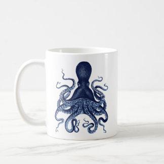 Octopus Kraken vintage engraving Coffee Mug