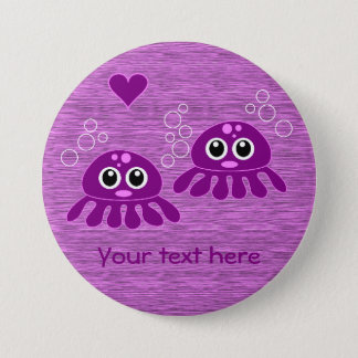 Octopus Love custom button