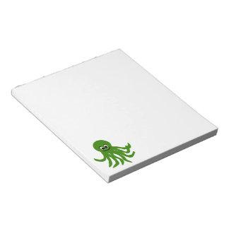 Octopus Lover Notepad