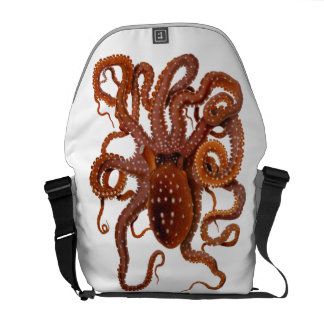 Octopus Macropus Atlantic White Spotted Octopus Commuter Bags