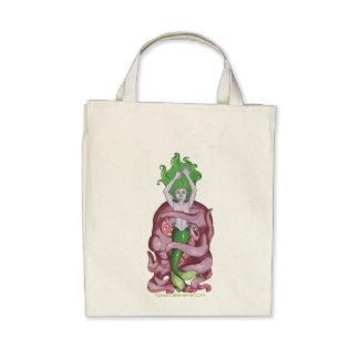 Octopus Mermaid Canvas Bag