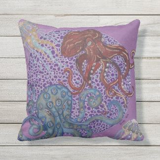 Octopus Outdoor Cushion