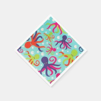 Octopus Paper Napkins