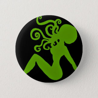 Octopus Pin-up Badge