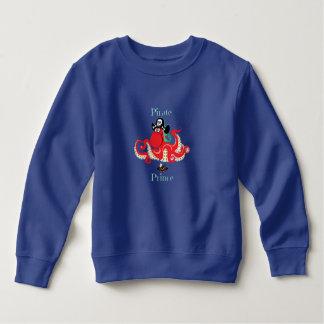 Octopus Pirate Prince Toddler Fleece Sweatshirt