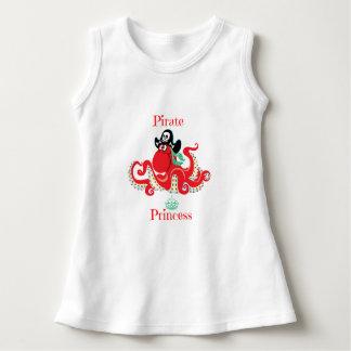 Octopus Pirate Princess Baby Sleeveless Dress
