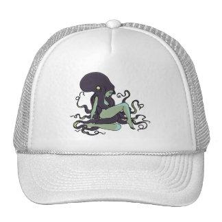 Octopus Queen Mesh Hats