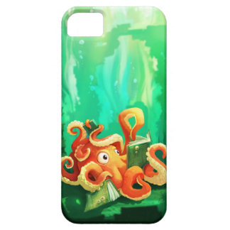 Octopus Reading iPhone 5 Case