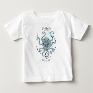 Octopus - Salt Club 76 - Down by the Sea Baby T-Shirt