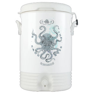 Octopus - Salt Club 76 - Down by the Sea Drinks Cooler