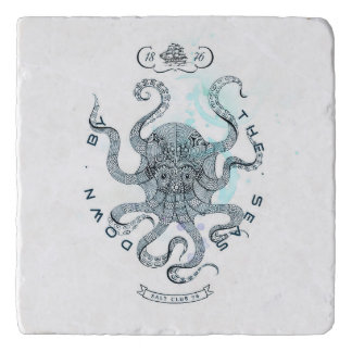 Octopus - Salt Club 76 - Down by the Sea Trivet
