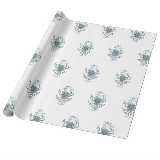 Octopus - Salt Club 76 - Down by the Sea Wrapping Paper