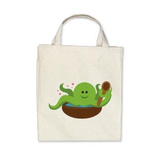 Octopus Soup Tote Bag