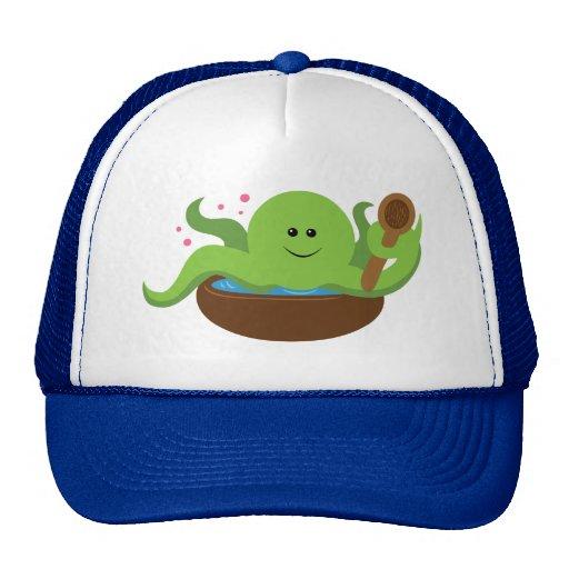 Octopus Soup Trucker Hats