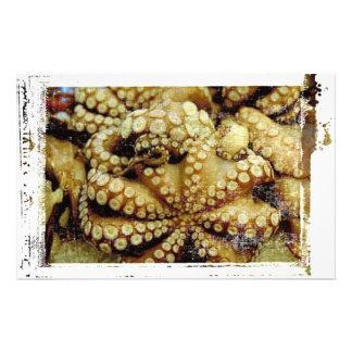 Octopus Custom Stationery