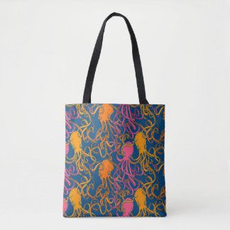 Octopus Tangle Tote Bag