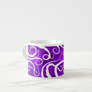 Octopus Tentacles On Purple - Espresso Mug