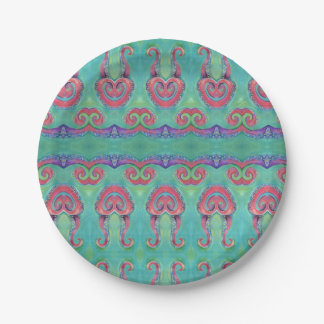octopus tentacles paper plate