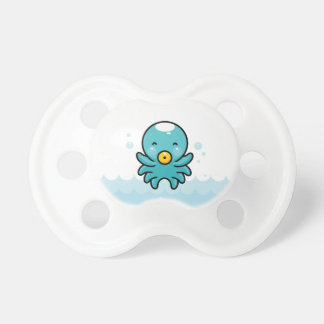 Octopus with  pacifier