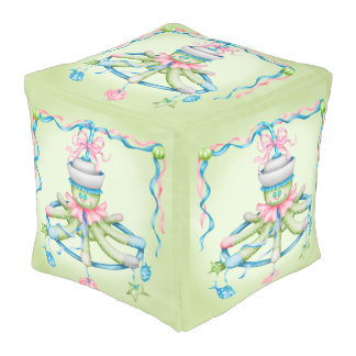 OCTOPUSS BABY COTTON Cubed Pouf (LARGE)