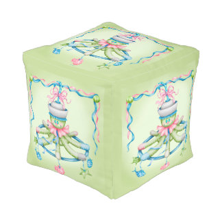 OCTOPUSS BABY COTTON Cubed Pouf (SMALL) 2