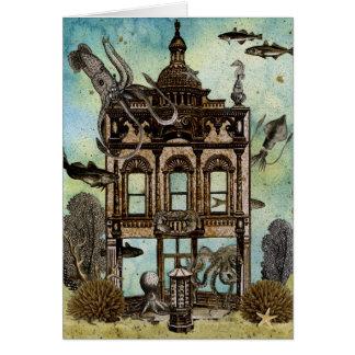 Octopus's House Undersea Card