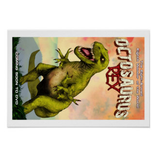 """Octosaurus Rex 19"""" x 13"""" (Matte) Poster"""