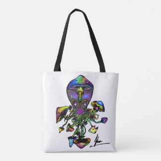 Octoshroom Tote Tote Bag