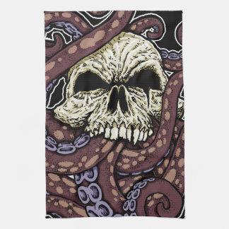 Octoskull Tea Towel