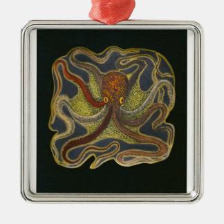 Ocyopus Love Silver-Colored Square Decoration