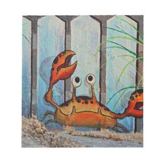 Ocypoid Crab Notepad
