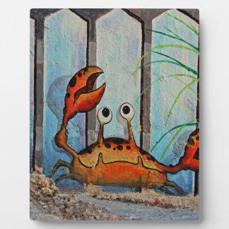 Ocypoid Crab Plaque