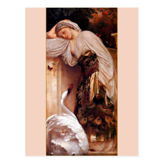 Odalisque 1862 By Lord Frederic Leighton Postcard