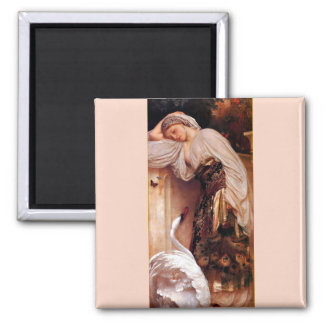 Odalisque 1862 By Lord Leighton Fridge Magnets
