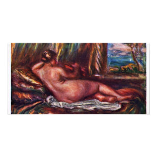 Odalisque By Pierre-Auguste Renoir (Best Quality) Customised Photo Card
