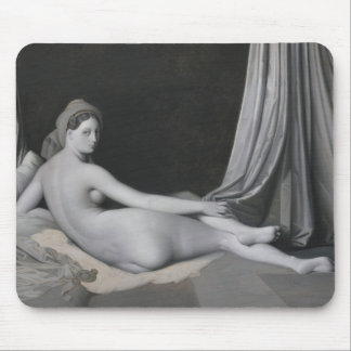 Odalisque in Grisaille Mouse Pad