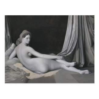 Odalisque in Grisaille Postcard