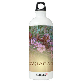 ODAT One Day at a Time Plum Blossoms on Green SIGG Traveller 1.0L Water Bottle