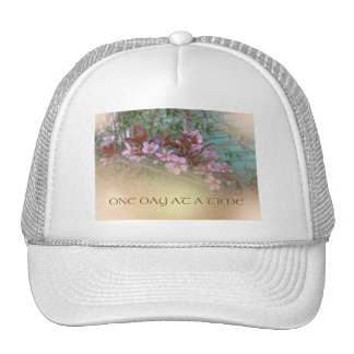 ODAT Plum Blossoms on Green Cap