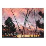 ODAT Serenity Sunrise Prayer Card Business Card Template
