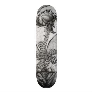 Odd Bone Fellow Horror Monster Orig Art Skate Deck