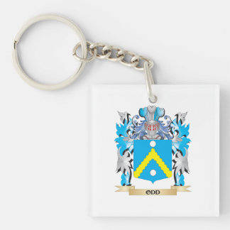 Odd Coat of Arms - Family Crest Square Acrylic Keychain