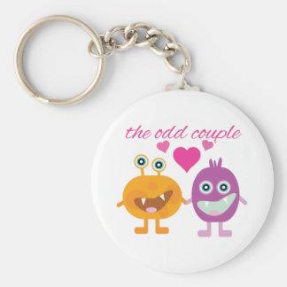 Odd Couple Key Chains