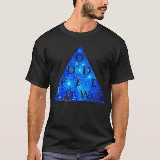 ODD FELLOWS Geometric Galaxy Design T-Shirt