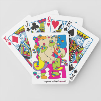 odd funny woman illustration noa israel artist bicycle playing cards