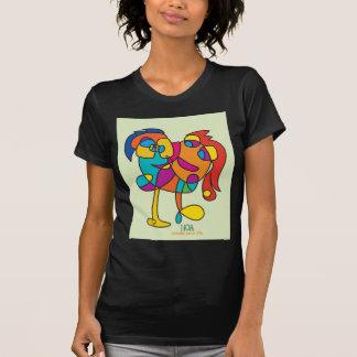 odd happy creatures colorful illustration noa isra T-Shirt