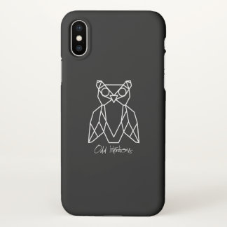 Odd Intentions To Go iPhone X Case